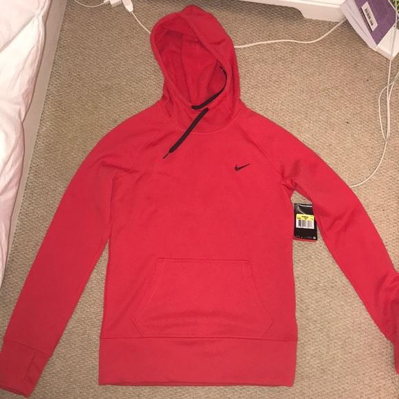 Women s Red Nike Hoodie 8561c4fe0